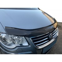 Дефлектор капота 2007-2010 (VIP) для Volkswagen Touran 2003-2010