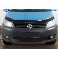Volkswagen Touran 2010-2015 гг. Дефлектор капота (VIP)