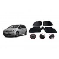 Volkswagen Touran 2015+︎ гг. Резиновые коврики (4 шт, Niken 3D)