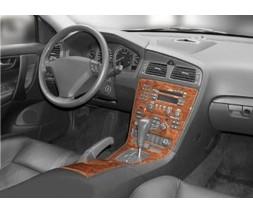 Volvo S60 2000-2009 гг. Накладки на панель (2000-2005) Алюминий