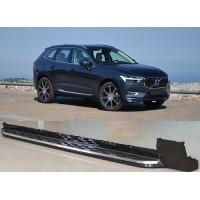 Боковые пороги (2 шт) для Volvo XC60 2017+
