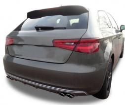 Спойлер (под покраску) Audi A3 2012