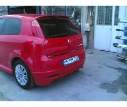 Спойлер Anatomik (2010-2015, под покраску) Fiat Punto Grande/EVO 2006 и 2011