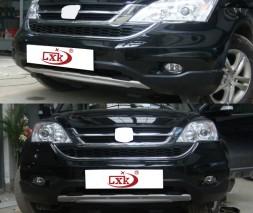 Передняя и задняя накладки V3 (2007-2010) Honda CRV 2007-2011