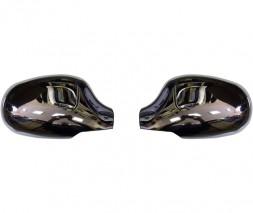 Накладки на зеркала (нерж.) Chevrolet Lanos
