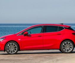 Окантовка стекол (нерж) Opel Astra K 2016