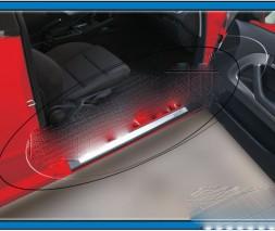 Накладки на пороги внутренние Audi A3 2004-2012