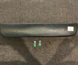 Skoda Yeti 2009-2013 Зимняя накладка на решетку глянцевая (нижняя)