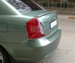 Спойлер Meliset (под покраску) Hyundai Accent 2006-2010
