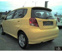 Спойлер (под покраску) Chevrolet Aveo T200 2002-2008