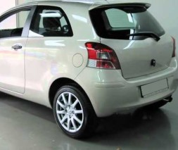 Спойлер (под покраску) Toyota Yaris 2006-2012