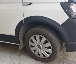 Volkswagen T5 рестайлинг 2010-2015 Комплект молдингов и арок (11 деталей) Короткая база