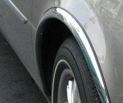 Накладки на арки (4 шт, нерж) Toyota Camry 1991-1996