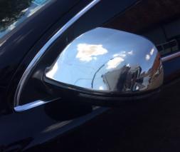Audi Q7 накладки на зеркала OmsaLine нержавейка