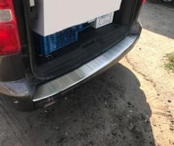 Peugeot Expert 2017 Накладка на задний бампер OmsaLine на длинную базу