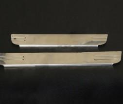 Накладки на пороги OmsaLine (4 шт, нерж.) Daihatsu Terios 2006