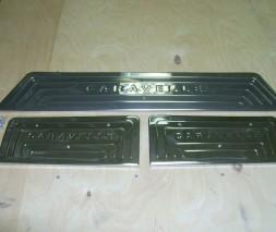 T5GP Caravella Накладки на пороги 4 двери OmsaLine