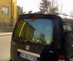 Спойлер Калин (под покраску) Volkswagen Caddy 2004-2010