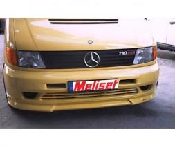 Нижняя накладка на бампер Brabus Style (под покраску) Mercedes Vito W638 1996-2003