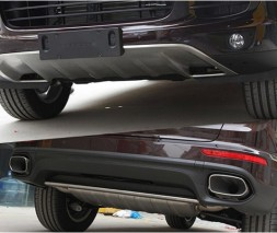 Передняя и задняя накладки (2015-2017) Porsche Cayenne 2010-2017