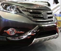 Передняя и задняя накладки V2 Honda CRV 2012-2016