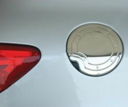 Накладка на лючок бензобака (нерж.) Peugeot 307