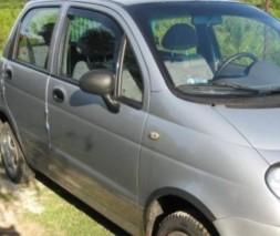 Накладки на арки (4 шт, черные) Daewoo Matiz 1998-2008