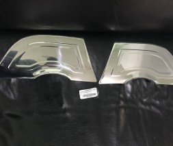 Задняя накладка (нерж) Peugeot 508 2010-2018