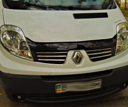 Renault Trafic 2007-2015 Накладки на решетку Carmos
