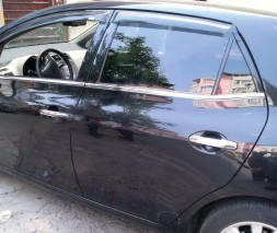 Toyota Auris Молдинг стекол OmsaLine 4 шт нерж