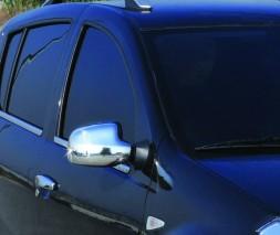 Lada Largus Тюнинг зеркал из нержавейки