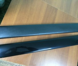 Зимняя накладка на решетку (нижняя) Chevrolet Lanos