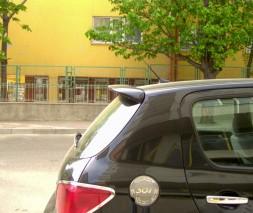 Спойлер (под покраску) Peugeot 307