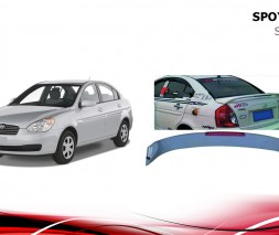 Спойлер Niken (под покраску) Hyundai Accent 2006-2010