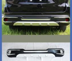 Передняя и задняя накладки (2 шт) Toyota Highlander 2014