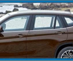 Нижние молдинги стекол (нерж.) 6 шт. BMW X1 E-84 2009-2015