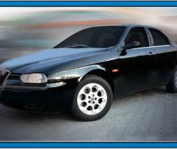 Молдинги на стекло (нерж.) Alfa Romeo 156 1997-2007