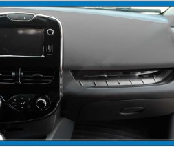 Накладка на переднюю консоль (нерж.) Renault Clio IV 2012-2019