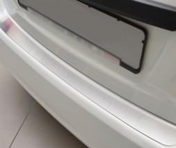 Накладка на задний бампер (нерж) Toyota Yaris 2012