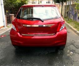 Кромка багажника (нерж.) Toyota Yaris 2012