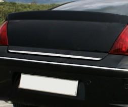 Кромка багажника (нерж) Peugeot 407