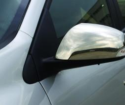 Накладки на зеркала (2 шт, нерж.) Renault Laguna 2007-2015