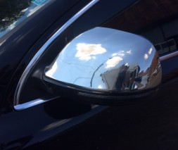 Audi Q7 накладки на зеркала OmsaLine пластик