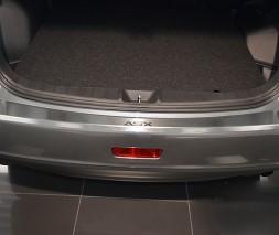 Mitsubishi ASX 2016+ Накладка на задний бампер с загибом