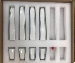 Range Rover Накладки на ручки (белые)