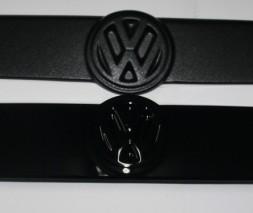 Зимняя решетка Volkswagen T4 Caravelle матовая прямая морда