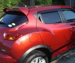 Спойлер (под покраску) Nissan Juke 2010