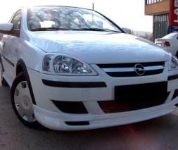 Передняя нижняя юбка (под покраску) Opel Combo 2002-2012