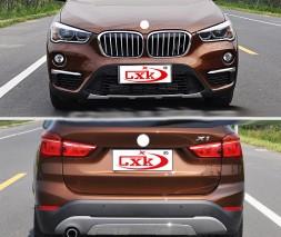 Передняя и задняя накладки (2 шт) BMW X1 F-48 2015