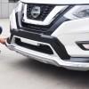 Передняя и задняя накладки V4 (2016) Nissan X-trail T32 (2014)